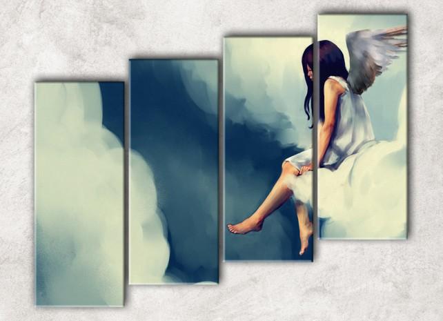 Ангел на облаке сф