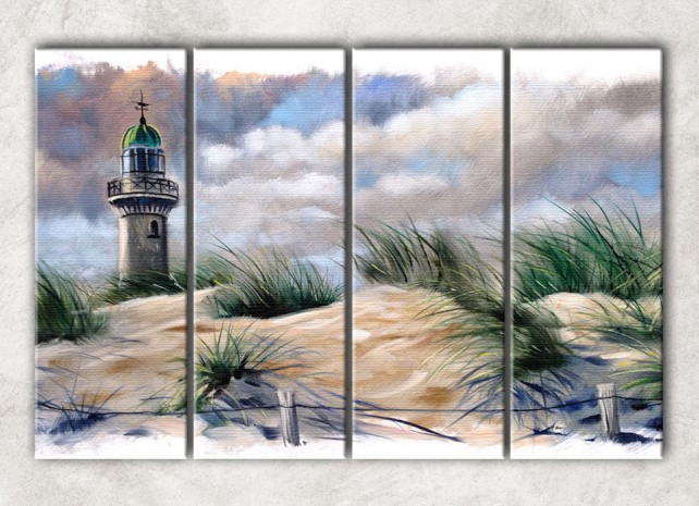 Башня на берегу сф