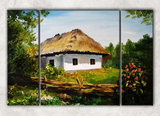 домик у леса сф