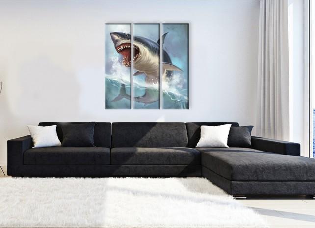 коварная акула 3