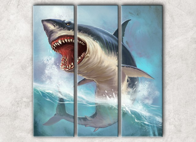 коварная акула сф