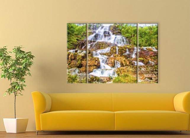 лесной водопад 3