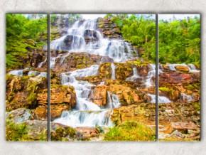 лесной водопад сф