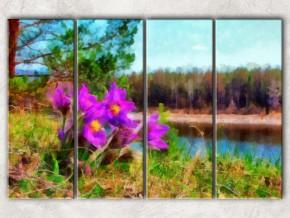 лесные цветы сф