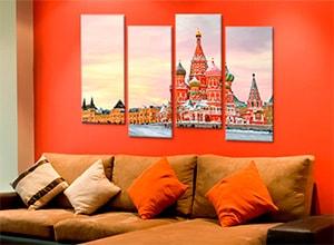 Модульные картины Москва