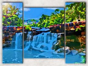 небесный водопад сф