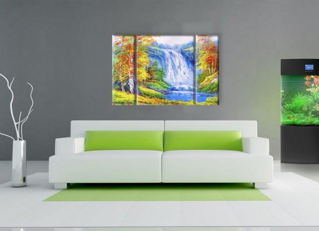 осенний водопад 2