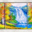 осенний водопад сф
