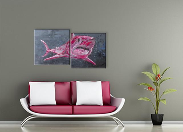 розовая акула 2