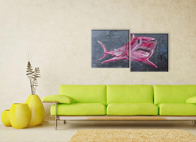 розовая акула 3
