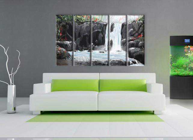 волшебный водопад 2