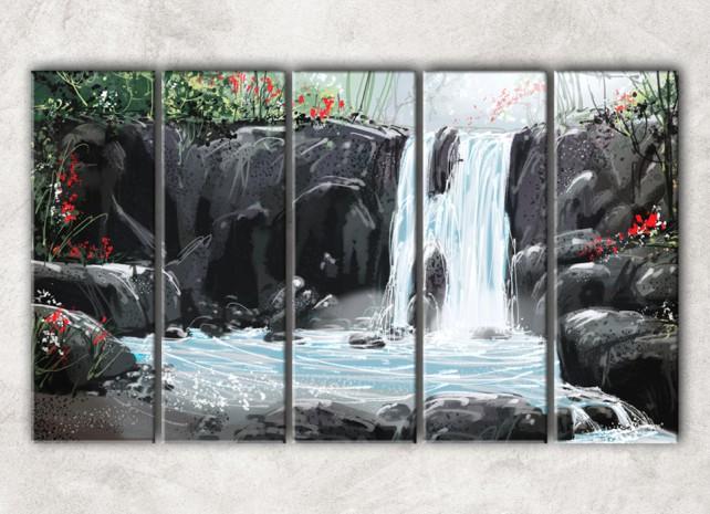волшебный водопад сф