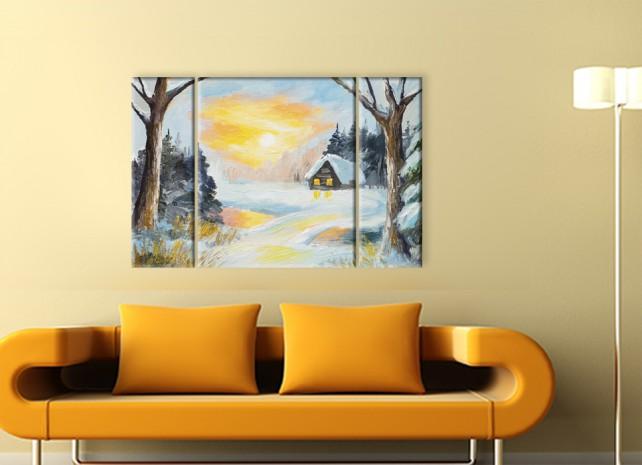 зимняя деревня 1
