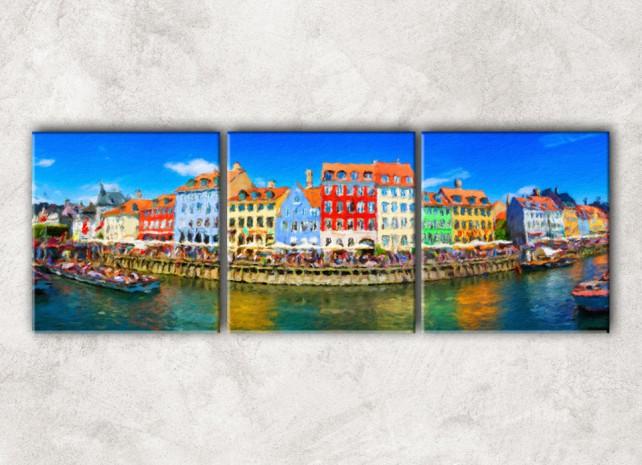 Канал в Венеции сф