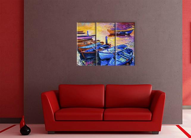 Лодки в воде 1