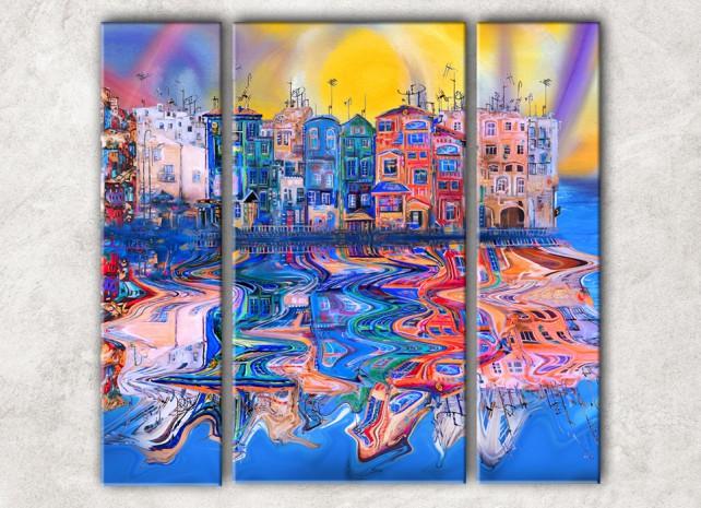 Отражение города сф