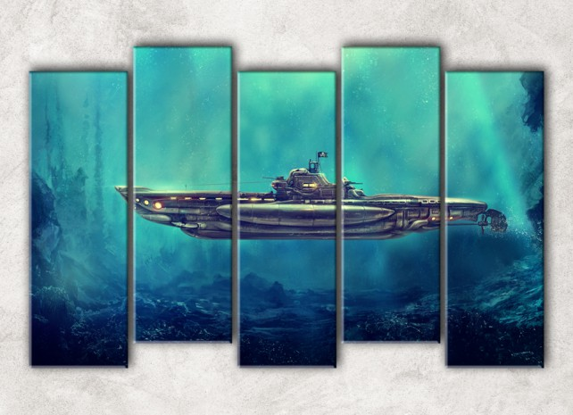 Пиратская подлодка сф