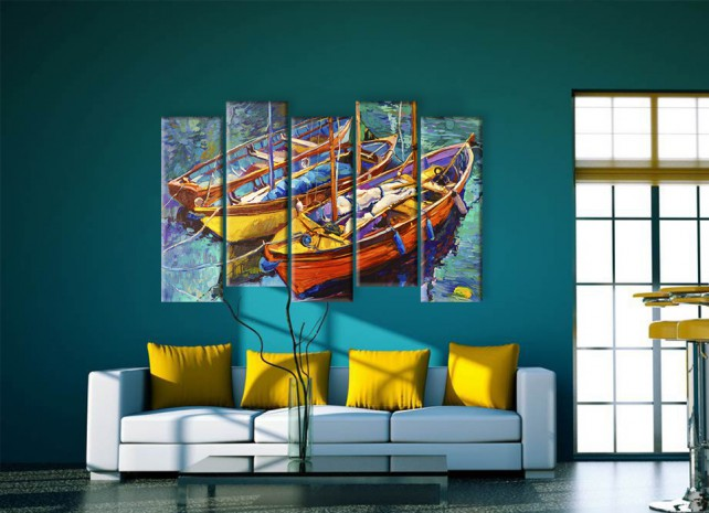 Рыбацкие лодки 1