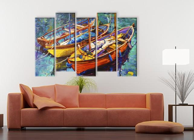 Рыбацкие лодки 2