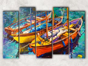 Рыбацкие лодки сф