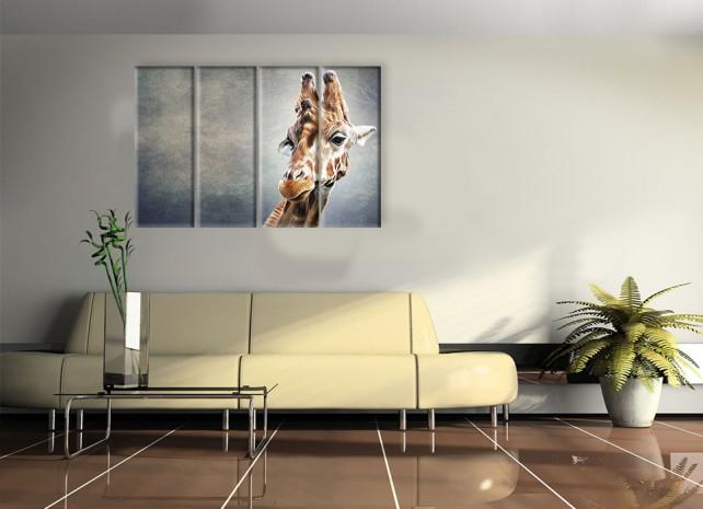 Серьёзный жираф 2