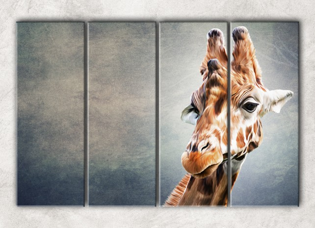 Серьёзный жираф сф