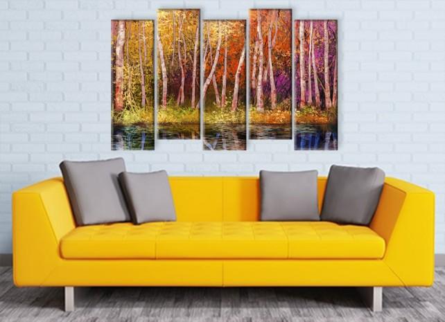 Цветной лес 3