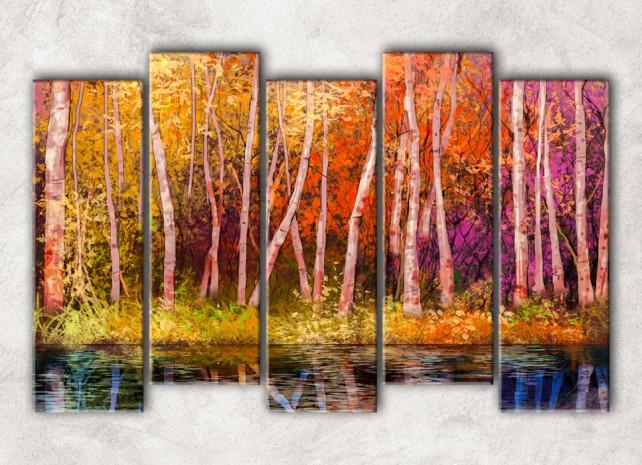 Цветной лес сф