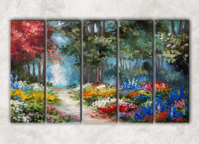 Весенний лес сф