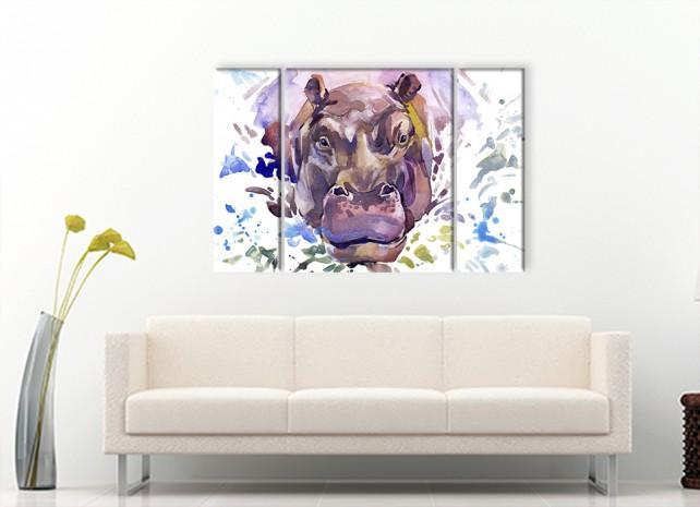 Яростный бегемот 1