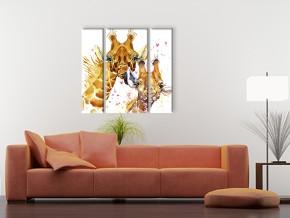 Жираф с детёнышем 1