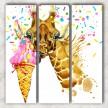 Жираф с мороженым сф