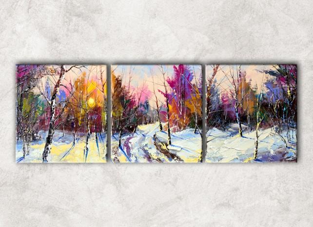 Зимний лес сф