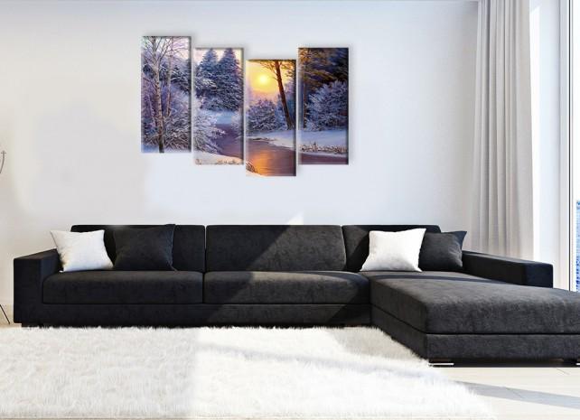 Зимний пейзаж 3