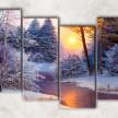 Зимний пейзаж сф