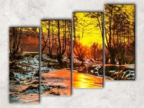 Зимняя речка сф