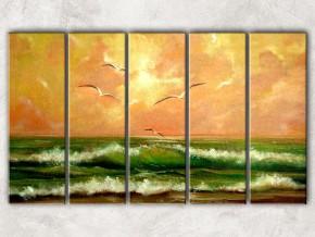 чайки над морем сф