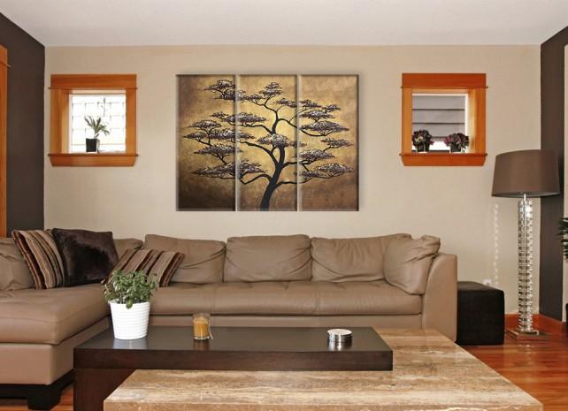 дерево на золотом 2