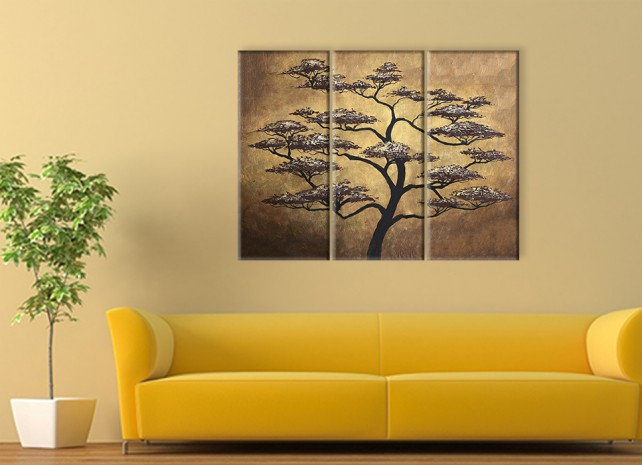 дерево на золотом 3