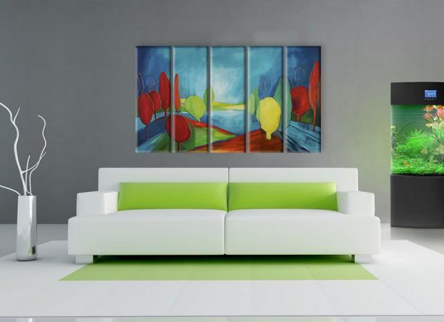 красочный лес 3
