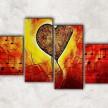 музыка в сердце с фоном