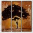 одинокое дерево с фоном