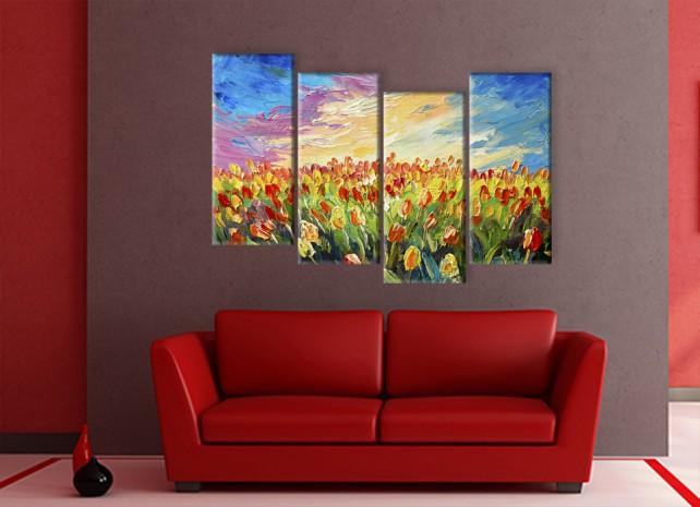 поле тюльпанов 1