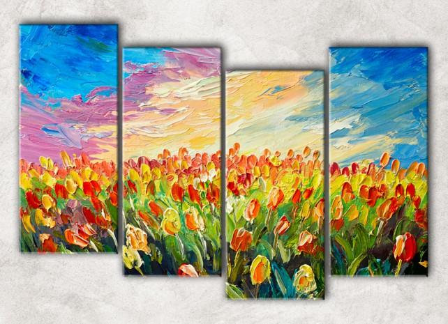 поле тюльпанов сф