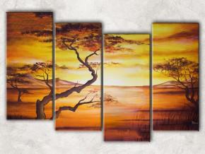 пустынный пейзаж с фоном