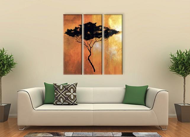 силуэт дерева 2