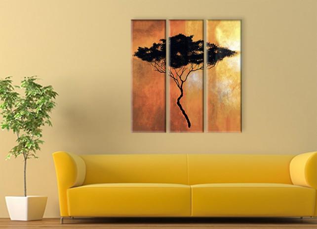 силуэт дерева 3