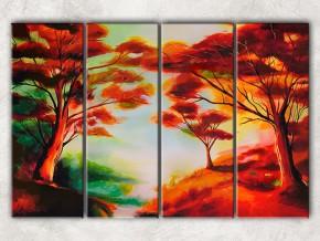 сказочный лес с фоном