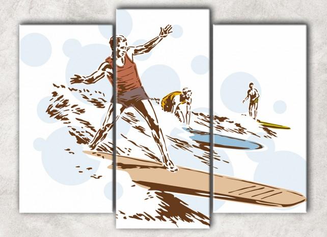 сёрфингисты сф