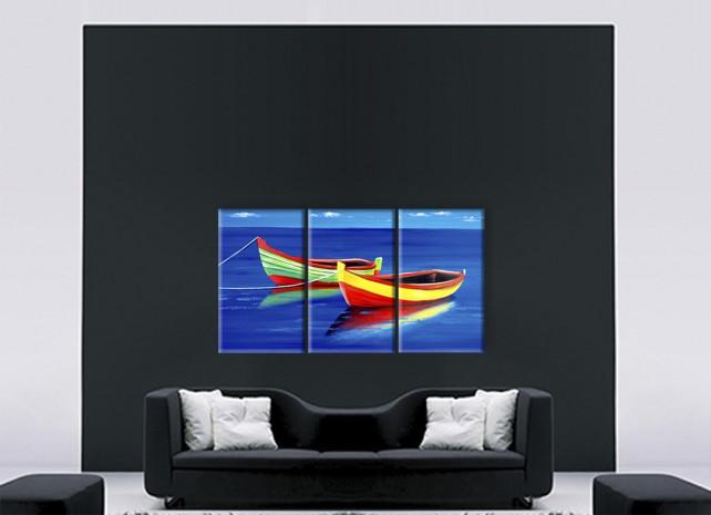 цветные лодки 2